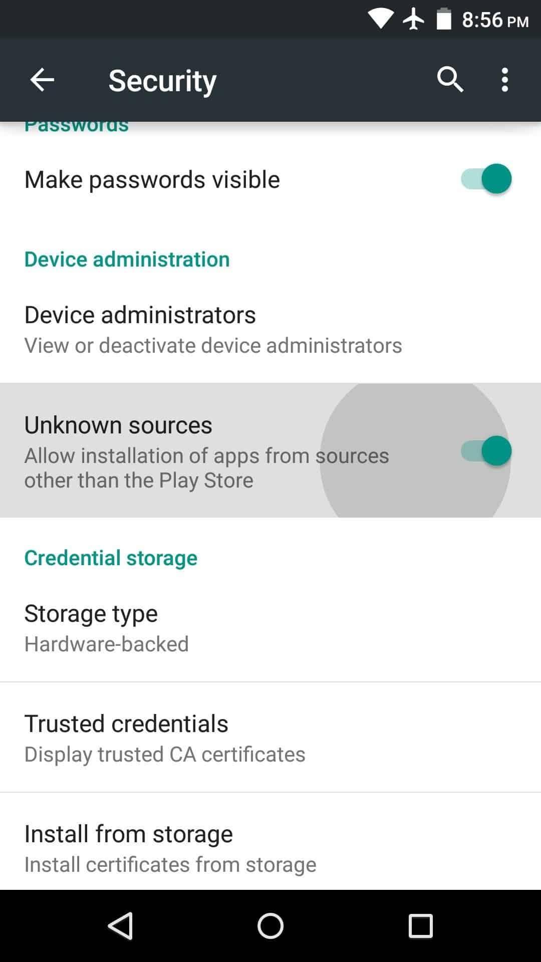 Setelah-muncul-jendela-device-permission-silahkan-aktifkan-bagian-Unknown-sources