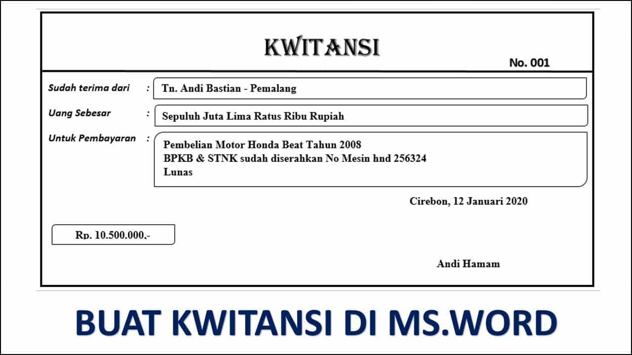 Download-Kwitansi-Format-Word