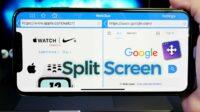 Letakkan-Split-Screen-dari-aplikasi-pertama-ke-bagian-atas-dan-pilih-aplikasi-kedua-yang-ingin-displit