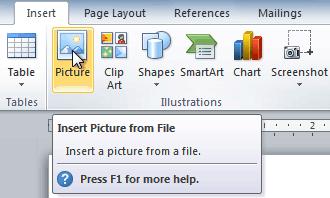 Pilih-menu-Pictures-untuk-memasukkan-file-gambar-ke-dokumen-Microsoft-Word